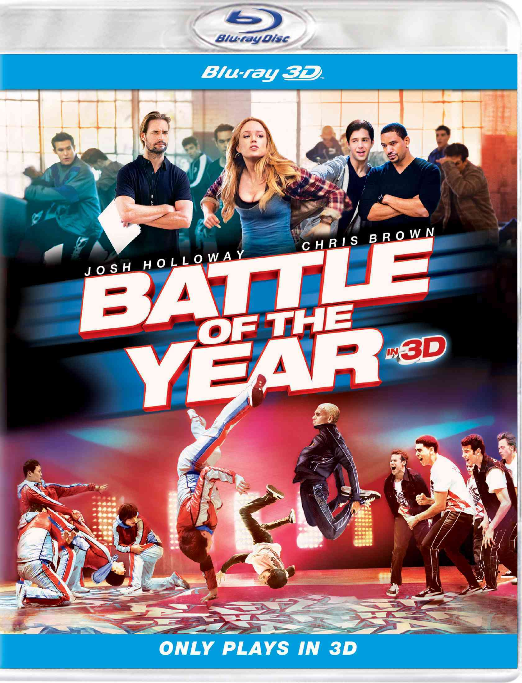 BATTLE OF THE YEAR 3D BY HOLLOWAY,JOSH (Blu-Ray)